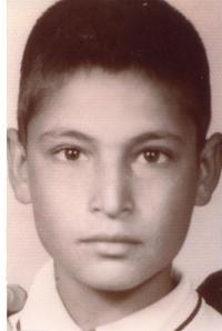 دوازده سالگی - حشمت الله طبرزدی در کودکی