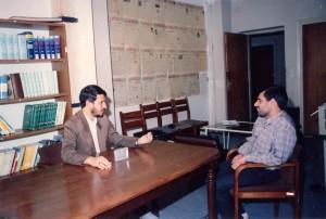 سال 75- من با علیپور.